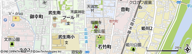 福願寺周辺の地図