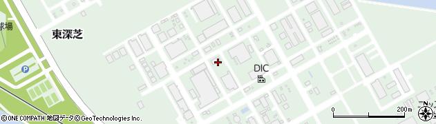 千葉港運倉庫株式会社 第二営業所周辺の地図