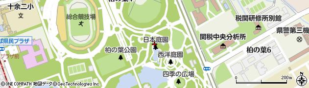 千葉県柏市柏の葉周辺の地図