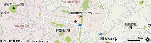 都市再生機構(独立行政法人) 取手井野団地管理事務所周辺の地図