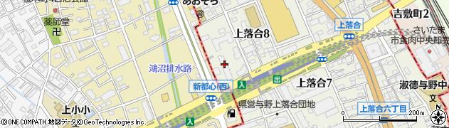 与野ダイヤハイツ周辺の地図