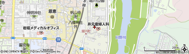 福井県越前市堀川町周辺の地図
