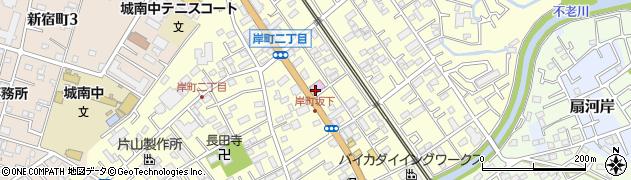 カラオケキララ川越店周辺の地図