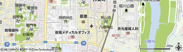 福井県越前市住吉町周辺の地図