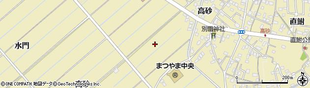 茨城県龍ケ崎市高砂周辺の地図