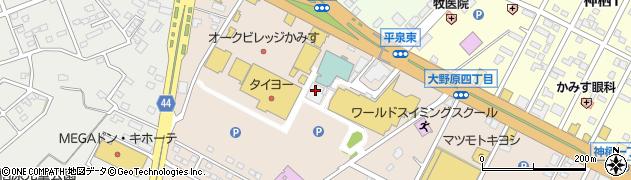 株式会社カワイ楽器 鹿島セントラル事務所周辺の地図