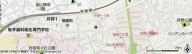 池坊増子典子いけ花教室周辺の地図