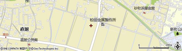 茨城県龍ケ崎市下地内周辺の地図