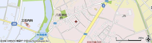 茨城県龍ケ崎市長沖新田町周辺の地図