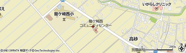 茨城県龍ケ崎市六斗蒔周辺の地図