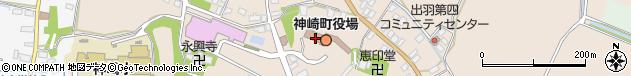 千葉県香取郡神崎町周辺の地図