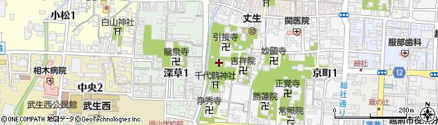 忠善院周辺の地図