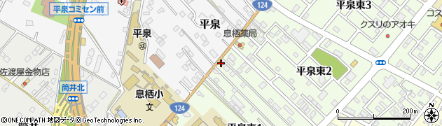 梅田鮮魚店周辺の地図