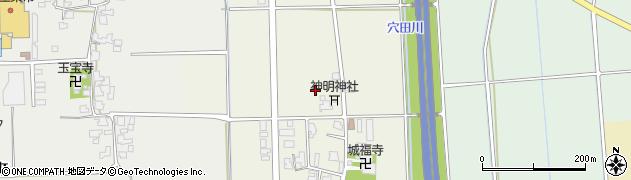 福井県越前市庄町周辺の地図