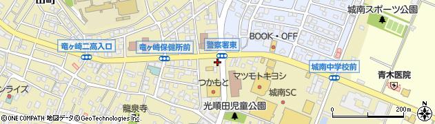 茨城県龍ケ崎市光順田周辺の地図