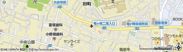 茨城県龍ケ崎市東町周辺の地図