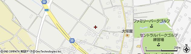 茨城県神栖市筒井周辺の地図