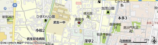 斉円寺周辺の地図