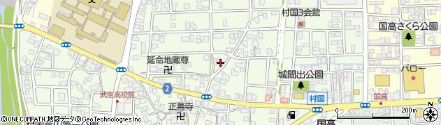 福井県越前市村国周辺の地図