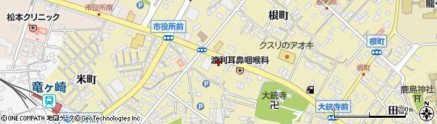 茨城県龍ケ崎市寺後周辺の地図