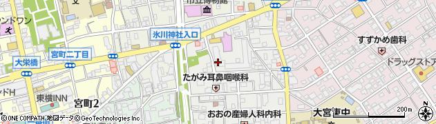 恒陽大宮公園マンション周辺の地図