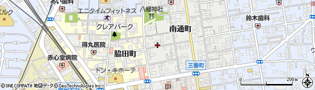 埼玉県川越市南通町周辺の地図