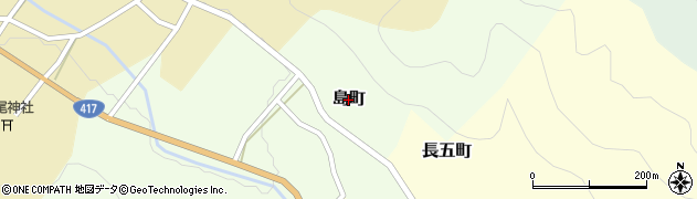 福井県越前市島町周辺の地図