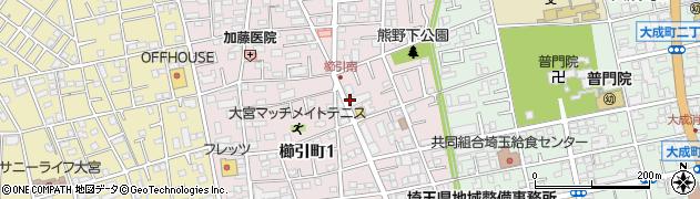 埼玉県さいたま市大宮区櫛引町の地図 住所一覧検索 地図マピオン