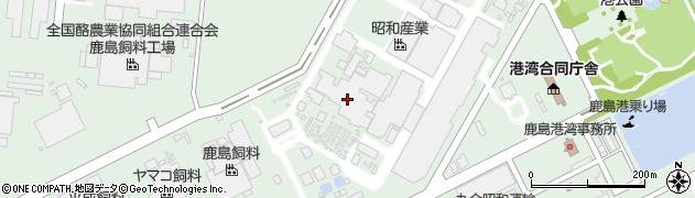 昭産運輸株式会社 鹿島営業所周辺の地図