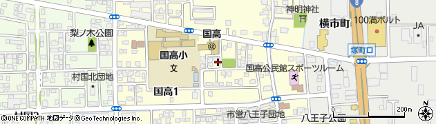 福井県越前市国高周辺の地図