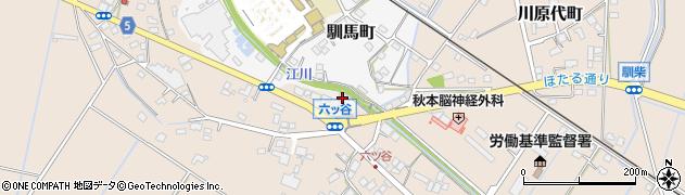 茨城県龍ケ崎市門倉新田町周辺の地図