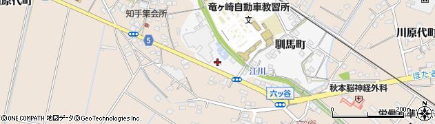 竜ケ崎食肉事業協同組合周辺の地図