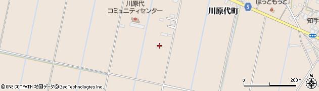 茨城県龍ケ崎市川原代町周辺の地図