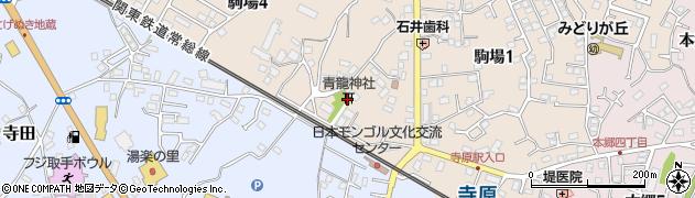 青竜神社周辺の地図