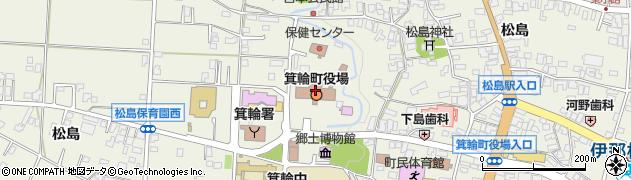 長野県箕輪町(上伊那郡)周辺の地図