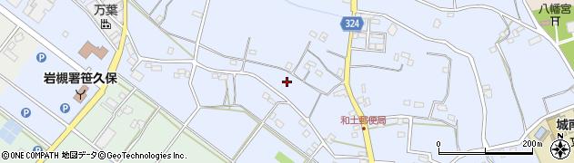 埼玉県さいたま市岩槻区笹久保周辺の地図