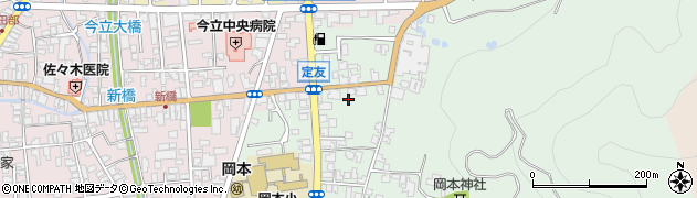 福井県越前市定友町周辺の地図