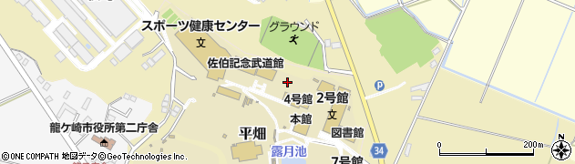 流通経済大学 図書館周辺の地図
