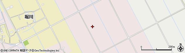 茨城県稲敷市駒塚周辺の地図