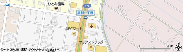 BESTバリュー 神栖店周辺の地図