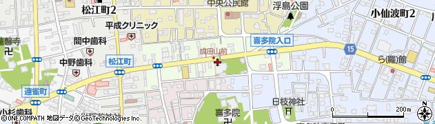 埼玉県川越市久保町周辺の地図