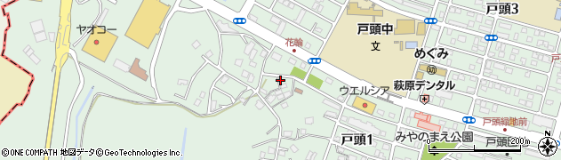 有限会社岩堀塗装店周辺の地図