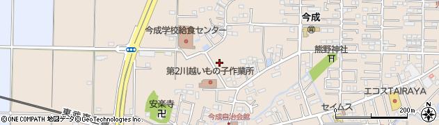 埼玉県川越市今成周辺の地図