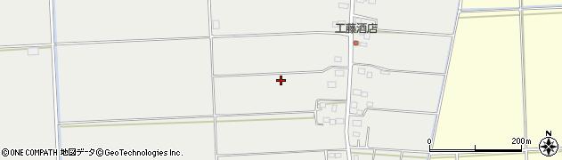 茨城県稲敷市佐原組新田周辺の地図