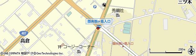 圏央鶴ケ島入口周辺の地図