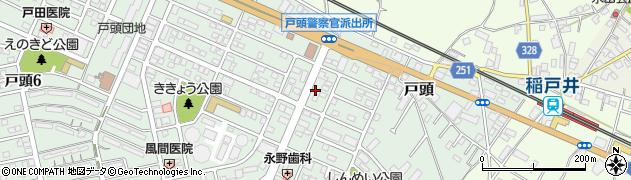 ギフトの三祥周辺の地図