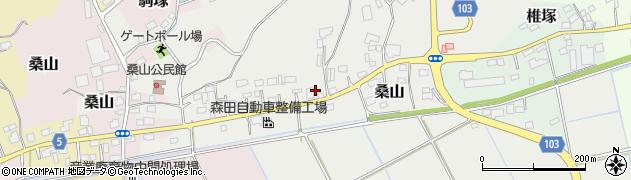 篠田給油所周辺の地図