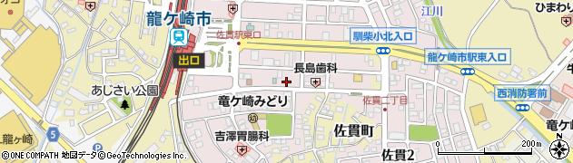 笠井陽子税理士事務所周辺の地図