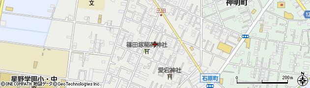 埼玉県川越市石原町周辺の地図