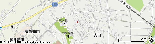 埼玉県川越市吉田周辺の地図
